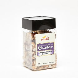 Andi Almonds, Cashew & Cranberry Nut Cluster 200 g