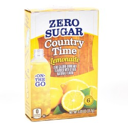Country Time On-The-Go Lemonade Powdered Soft Drink 23.7 g