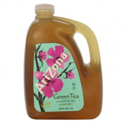 Arizona Zero Calorie Green Tea with Ginseng Drink 3.78L