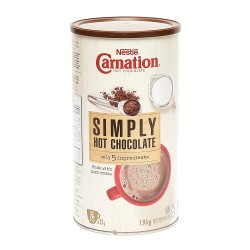 Nestle Carnation Simply Hot Chocolate Mix 1.9kg