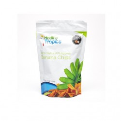 Healthy Tropics 100% Natural Philippine Banana Chips 100gHealthy Tropics 100% Natural Philippine Banana Chips 100g