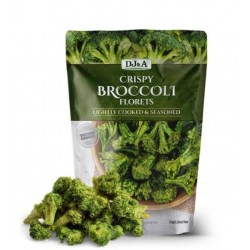 DJ&A Crispy Broccoli Florets Chips 33g
