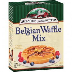 Maple grove farms of vermont belgian waffle mix