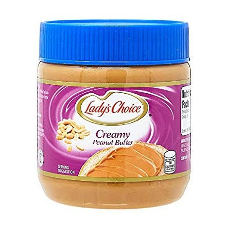 Lady's Choice Peanut Butter Creamy 340g