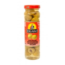 Figaro Olives Green Stuffed W/ Anchovy 142g