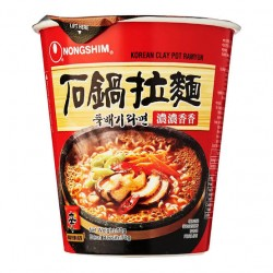 Nongshim Cup Noodles Korean Clay Pot Ramyun 70g