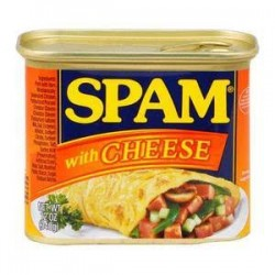 Spam Luncheon Meat Cheese 12oz 340g