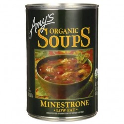 Amy's Organic Soups Minestrone Low Fat 14.1oz 400g