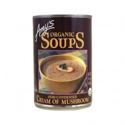 Amy's Organic Soups Cream of Mushroom 14.10oz 400g