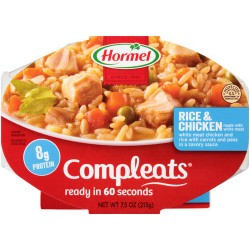 Hormel Compleats Homestyle Chicken Rice 10oz 283g