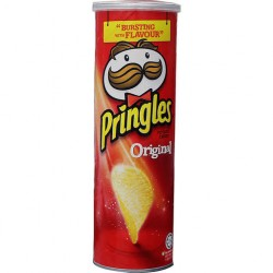 Pringles Snack Bursting with Flavor Original 150gms