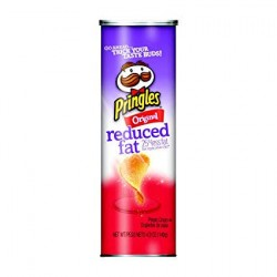 Pringles Snack Reduced 25% Fat Original 5.3oz 169g