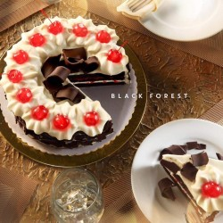 Red Ribbon Black Forest