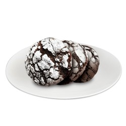 Red Ribbon Chocolate Crinkles Box of Four Packs