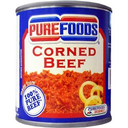 Purefoods Corned Beef Easy Open can 210g