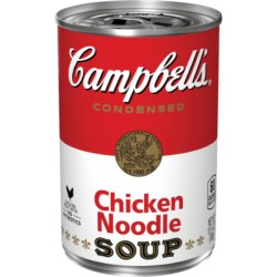 Campbell Condensed Soup Chicken Noodle 640g