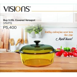 Visions 3.25L Covered Versapot