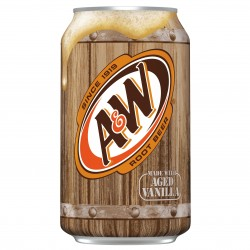 A & W Root Beer Made w/ Age Vanilla 355ml