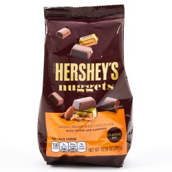 Hershey's Nuggets Extra Creamy Milk Chocolate with Toffee & Almonds 299g