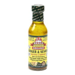 Bragg Organic Ginger & Sesame Dressing & Marinade 354mL