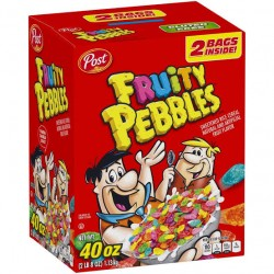 Post Fruity Pebbles Cereal 40 oz