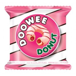 Doowee Donuts Strawberry Dipped With Strawberry Filling 40g 10s