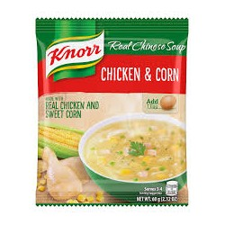 Knorr Real Chinese Soup Crab & Corn Soup 60g