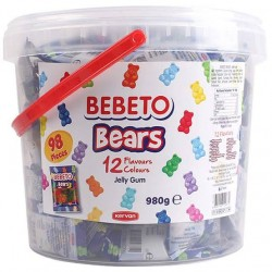 Bebeto Bears Jelly Gum 980g