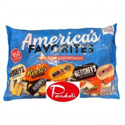 Hershey's America's Favorite Sharing Assortment 150pcs