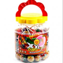 Chupa Chups XXL Trio 3in1 Lollipop 40 pcs