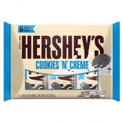 Hershey's Cookies And Cream Chocolate Bar