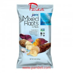 Jan's Mixed Roots Sea Salt Chips 8oz