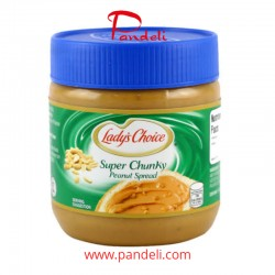 LADY'S CHOICE PEANUT BUTTER CHUNKY 340G