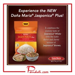 DOÑA MARIA PREMIUM QUALITY RICE JASPONICA WHITE+BROWN 5KG