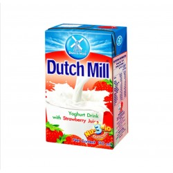 Dutch Mill Strawberry Yoghurt Drink with Strawberry Juice 90ml