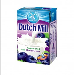 Dutch Mill UHT Yoghurt Drink Blueberry Juice 90ml