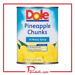 DOLE PINEAPPLE CRUSHED HEAVY SYRUP 567G