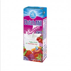 Dutch Mill Superfruits Yogurt Drink With mixed Berries Juice 180ml