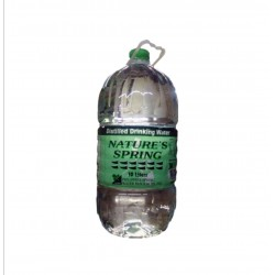 Nature's Spring Distilled Water 10L