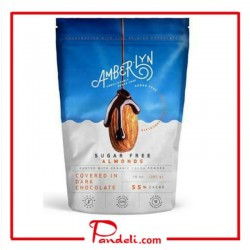 Amberlyn Dark Chocolate Sugar Free Almonds 284g SUGAR-FREE