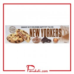 The Biscuit Collection New Yorkers Hazelnut Stuffed Soft Cookies 175g