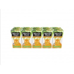 Minute Maid Fresh Orange Juice Drink 200ml 10s