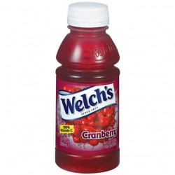 Welch's 10% Vitamin C Cranberyy Juive Cocktail 10oz 296ml