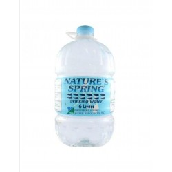 Nature's Spring Purified Drinking Water 6L