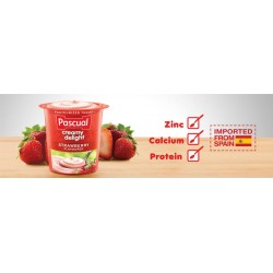 Pascual Creamy Delight Strawberry 100g