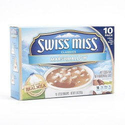Swiss Miss Classic Marshmallow Hot Cocoa Mix with Marshmallows 10 x 207g
