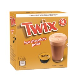 Twix Dolce Gusto Chocolate Pods 136g