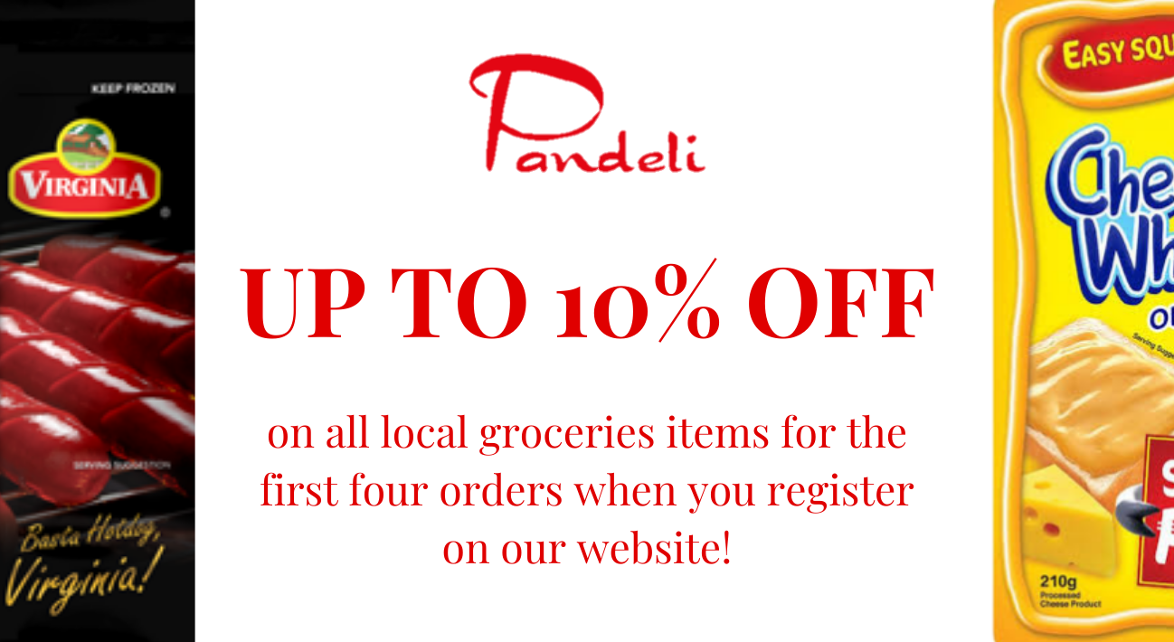 We give up to 10% Off! On your purchase simply register to our website!
